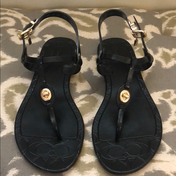 Coach Piccadilly Jelly Sandals   Poshmark